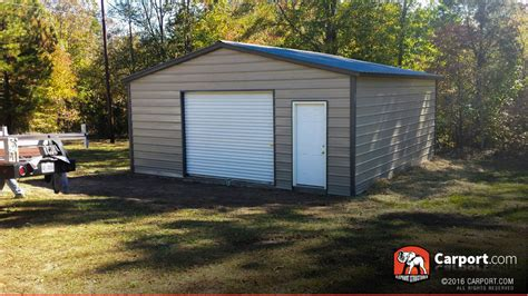 carport shop vertical style garage 20 x 26 x 9 shop metal garages