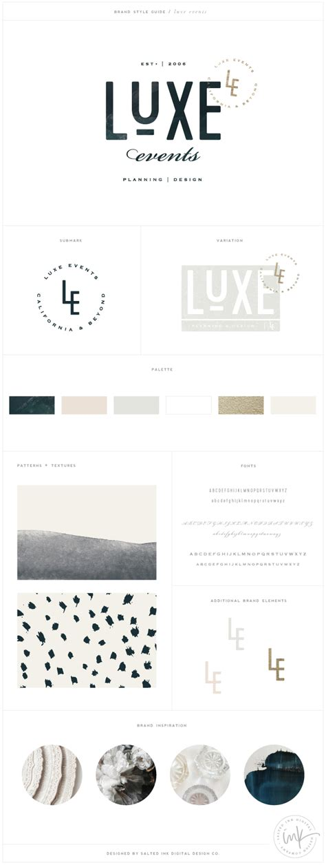 design luxe event co luxe events salted ink design co
