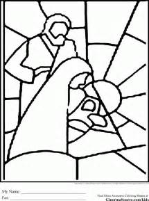stained glass coloring pages az coloring pages