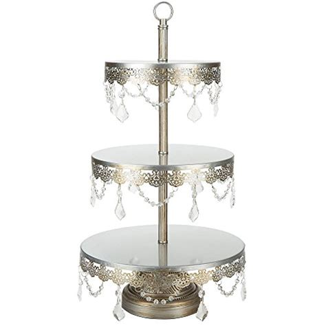 antique beaded cake stand vintage cake stand antique gold beaded
