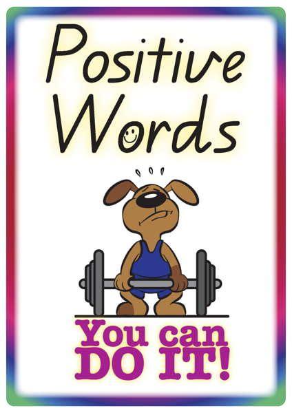 positive words  phrases   teacher resources