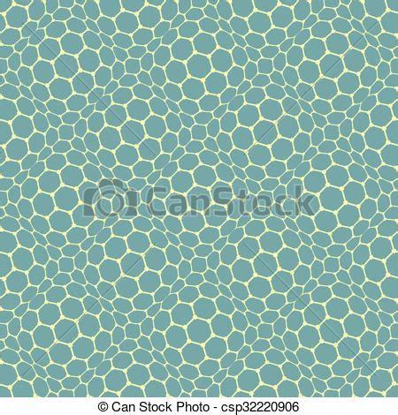 cell pattern en français vector clipart of seamless reticulate texture hexagonal