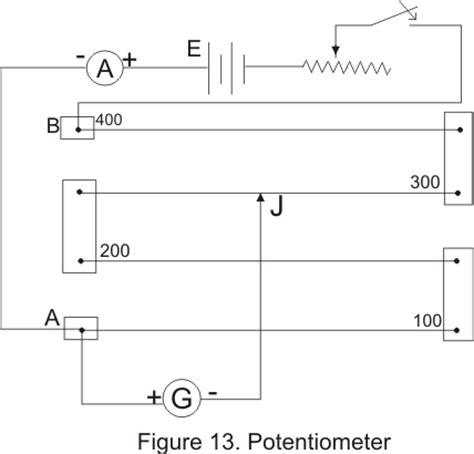potentiometer circuit diagram potentiometer wiring connection diagram 39 wiring