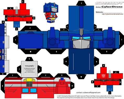 Transformer Papercraft - transformer birthday ideas on transformers