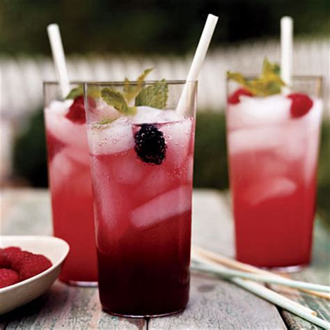non alcoholic punch recipes for bridal shower nonalcoholic berry lemon sparkler recipe popsugar food