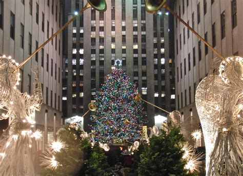 rockefeller center christmas tree wallpaper