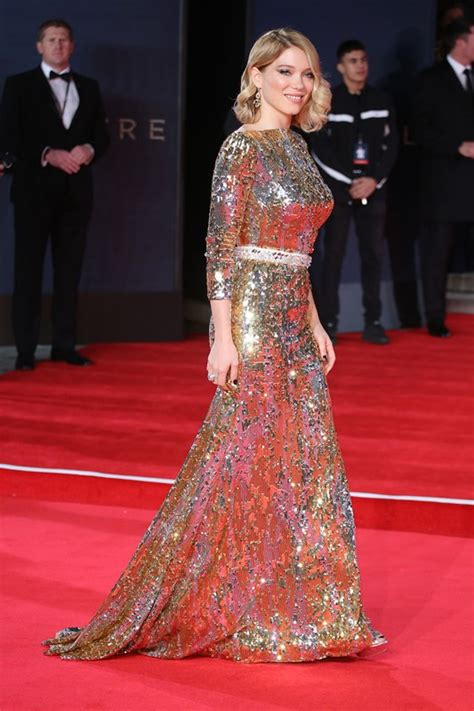 lea seydoux bond dress carpets candids lea seydoux s two bond dresses lainey