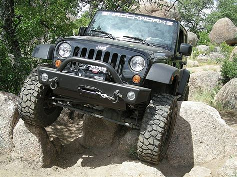 Jeep Bumbers Shrockworks Jeep Jk Front Bumper Jeep Jk Winch Bumper