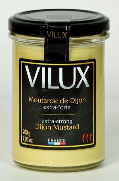 Dijon Mustard Strong Vilux Dijon Mustard Mustard 200gr Mustards Vilux Dijon Strong 7 Oz