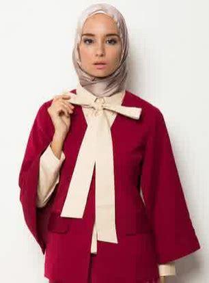 desain jas trend 2015 15 trend gambar desain baju blazer muslim 2015