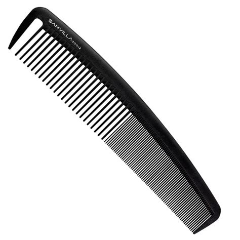 what hair product to use in comb sam villa signature series wide cutting comb black sam