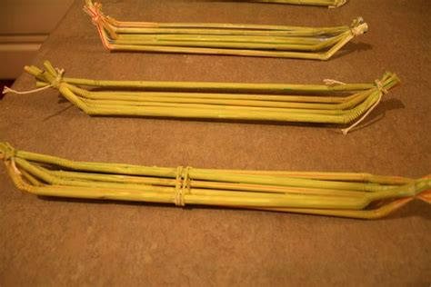 how to make a paper egyptian boat egyptian reed boats made from flexible drinking straws