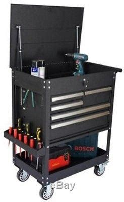 heavy duty utility cart with drawers black utility tool cart 5 drawer rolling cabinet caster