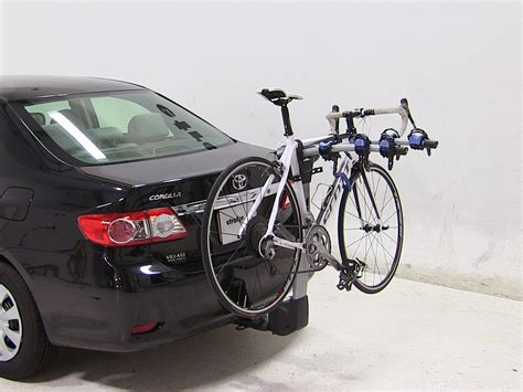 2010 toyota corolla thule apex 4 bike rack for 1 1 4 quot and
