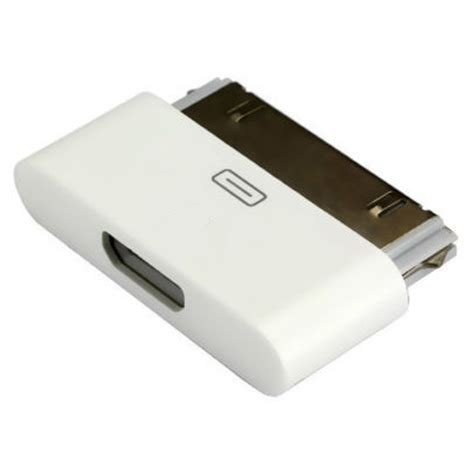 Sambungan Usb Ke Iphone 4 adapter konverter 30 pin apple ke micro usb untuk iphone 4 4s white jakartanotebook