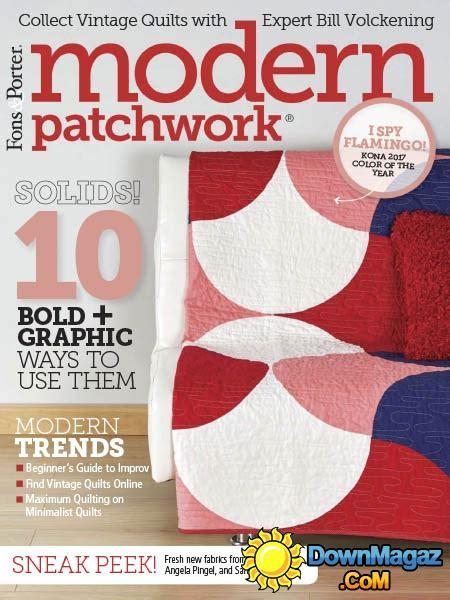 Modern Patchwork Magazine - modern patchwork 03 04 2017 187 pdf magazines