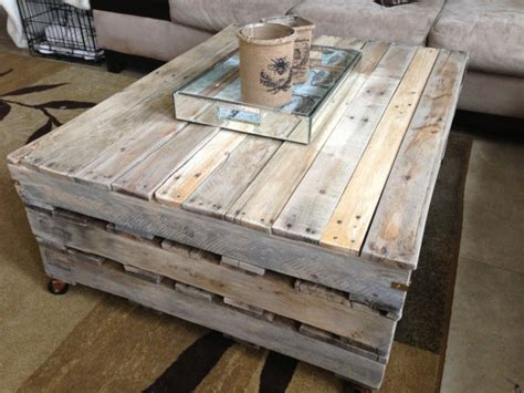 homemade coffee table 9 diy coffee table projects with clever and gorgeous