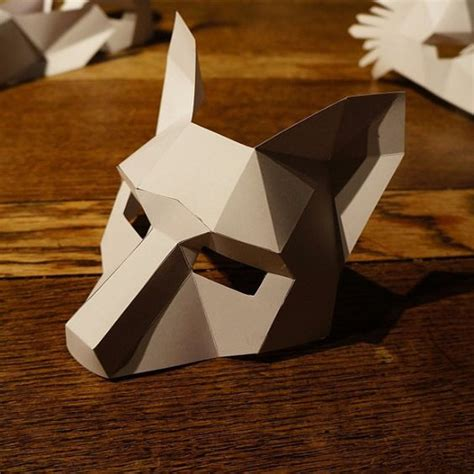 How To Make A Paper Fox Mask - the world s catalog of ideas