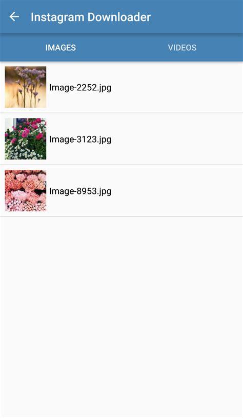 Instagram Videos And Images Downloader + Admob (Audio ...