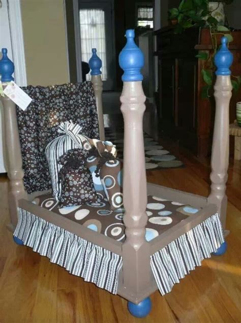 dog bed out of end table doggie bed upside down end table great idea pinterest