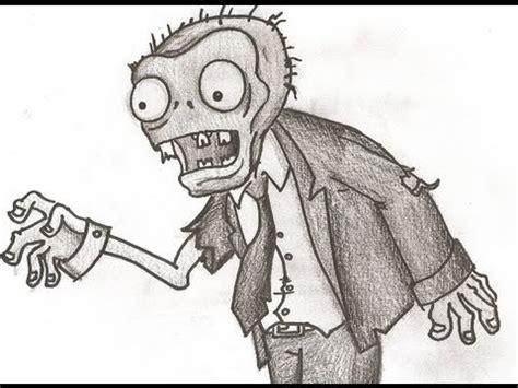imagenes de dibujos a lapiz de zombies dibujos de plantas vs zombies a lapiz imagui