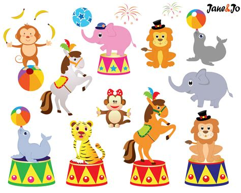 Clown clipart circus animal pencil and in color clown clipart circus animal