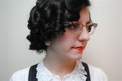 short hair styles set on small rollers how i do a late 30s early 40s sponge roller set and avoid