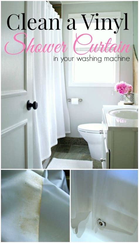 shower curtain cleaning tips vinegar 78 ideas about vinyl shower curtains on pinterest