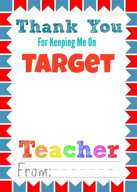 Target Gift Card Printable - free printable teacher appreciation gift card holders