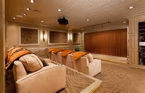 Home Theater Design Group by 10 Awesome Basement Home Theater Ideas