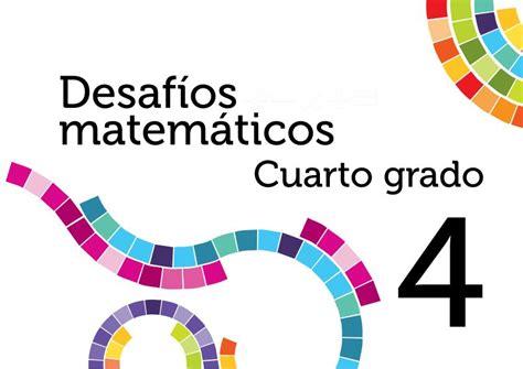 Imagenes De Desafos Matemticos 5 Grado | desafios matematicos 4 primaria 4 grado portada