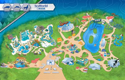 seaworld texas map seaworld map hallsofavalon