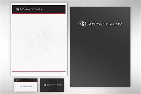 business card letterhead mockup psd 15 free presentation folder mockup design templates