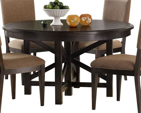 liberty furniture visions 72x54 oval dining table in mocha