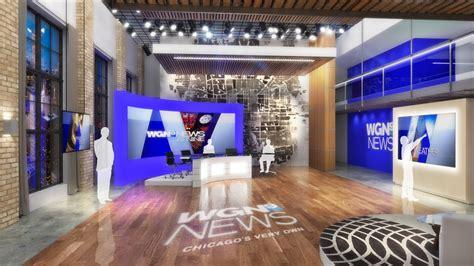 design concept studio wgn tv 9 news and broadcast studio design provost studio
