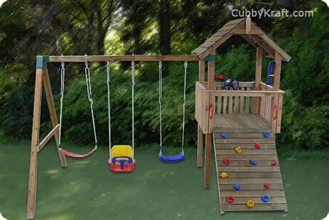 cubby house and swing set 17 best images about my favorite forts on pinterest