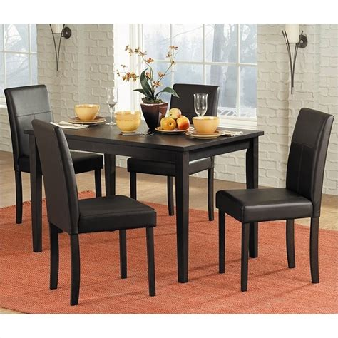trent home dover dining table in espresso finish 2434 48