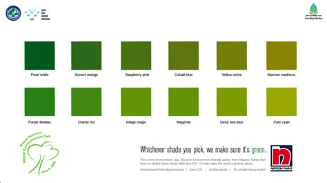 different names of green different shades of green paint different shades of green