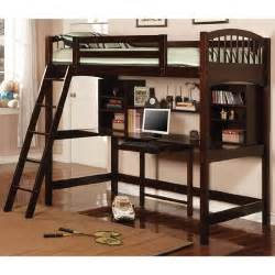 Bunk Bed With Desk The Dorena Workstation Bunk Bed