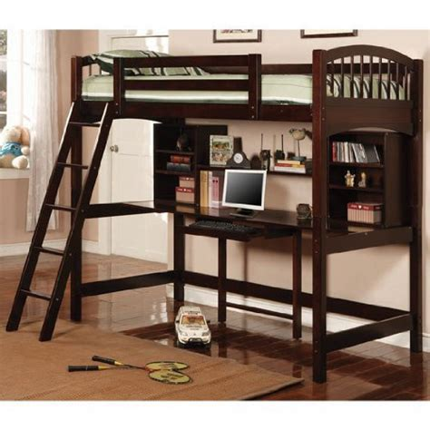 bunk bed desk the dorena twin workstation bunk bed