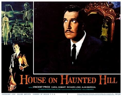 the house on haunted hill monster girl s quote of the day house on haunted hill 1959 the last drive in