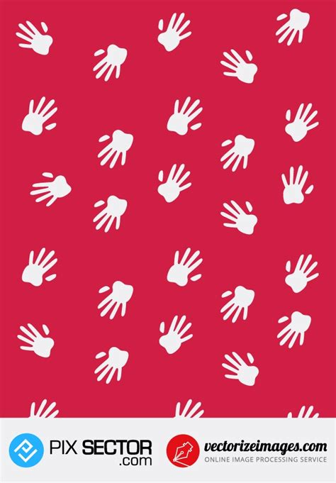 svg pattern support free vector hands pattern pixsector