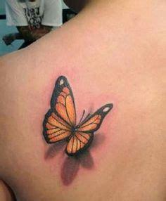tattoo 3d di bandung 017 3d monarch butterfly tattoo love the shadow effect
