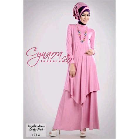 hijabers d pink baju muslim gamis modern