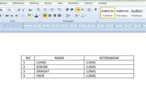cara membuat tabel html di notepad cara sisipkan tabel di blog geograph88