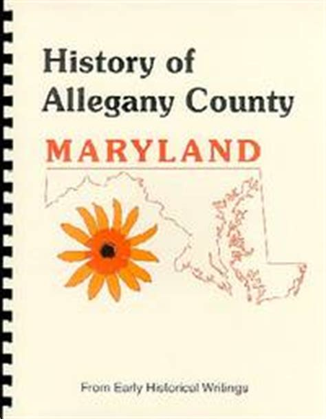 history of western maryland history of allegany county