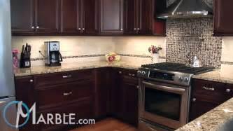 Kitchen Backsplash Ideas With Santa Cecilia Granite giallo ornamental granite kitchen countertops iii by