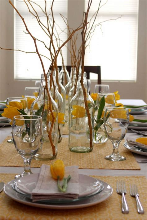 Kitchen Table Centerpieces Pendant L Two Table L Cutlery Arrangement On Dining Table