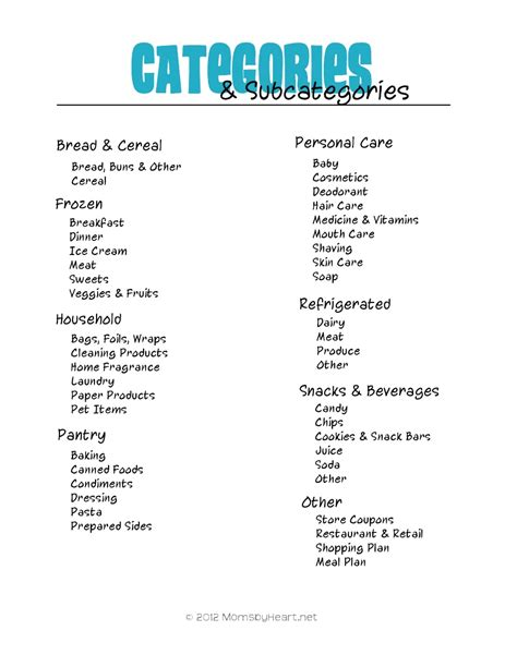 organization labels your file folders coupons binders categories for coupon binder coupon queen pinterest