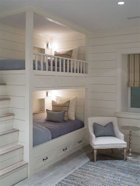 houzz bunk beds built in bunk beds ideas pictures remodel and decor